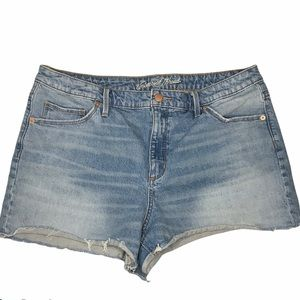 Universal Thread High Rise Shortie Denim Shorts